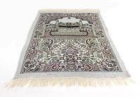 Wholesale islamic prayer rugs - New Arribal 70*110cm Islamic Muslim Prayer Mat Salat Musallah Prayer Rug Tapis Carpet Tapete Banheiro Islamic Praying Mat free shipping