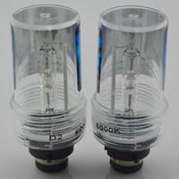 Wholesale Xenon Kit Cars - 2PCS 55W D2S Xenon HID Bulb 6000K car Headlight Lamp Replaced 12v Anto light
