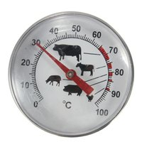 зондовые датчики оптовых-2016 Новый высокое качество нержавеющей стали карманный зонд термометр датчик для барбекю мясо еда кухня кулинария мгновенное чтение мяса датчик