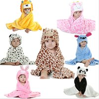 Wholesale Wholesale Cream Bedding - Baby blanket,bebe,Animal head blanket,new 2015,newborn Swaddling,super soft and comfortable baby Bedding