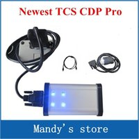 Wholesale Opel Led - Newest competitive price for auto adapter cdp pro TCS (LED LIGHT) CDP Pro Plus+plus CARs+TRUCKs+Generic 3 in 1+cn post freeship