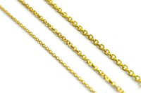 Wholesale Gold Plated Curb Chains - 3 styles Manufacturer wholesale 0 form curb Chain Titanium steel plating gold Jewelry Charms no beads pendant necklace for Men Women Party