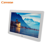 "Wholesale Digital Photo Screen Video - Wholesale- 10"" 12"" 15"" inch Digital Photo Frame Electronic Picture Porta Retrato Marco De Fotos Digital MP3 Living Room Bedroom Wall Home"