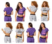 Wholesale Crop Tops Free Shipping - Woman tshirts dance tops Be Bold Bubble Crop Top free shipping purple white