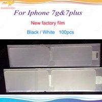 iphone ön çıkartmaları toptan satış-Yeni Fabrika Filmi iPhone 6 6 s 7 7 p artı Yenilemek Ön + Geri yenilemek Ekran Koruyucu Sticker Yeni Telefon Filmi iPhone 6g 7g