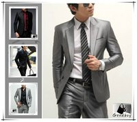 Wholesale Cool Slim Men Blazer - ( With Pants) Hot Suits outfits Men Casual Slim Fashion Party Club blazers outfits pant cool suit formal suit Dinner Bar Club