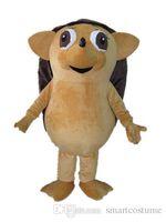 ingrosso grandi costumi della mascotte della testa-SX0720 Con un mini ventilatore dentro la testa un costume da mascotte di riccio con occhi grandi in vendita