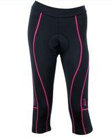 новая велоспортивная одежда оптовых-SANTIC спорта на открытом воздухе женские дамы Велоспорт 3D мягкий велосипед одежда велосипед капри брюки колготки новый Comfortabe