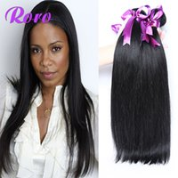 Wholesale Straight Brazillian Hair Brown - Brazilian Hair Human Hair Weave Virgin Brazillian Hair Bundles Unprocessed Peruvian Indian Malaysian Cambodian Straight Hair Extensions 7A