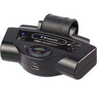 bluetooth динамика рулевого колеса оптовых-BT-8109B рулевое колесо Bluetooth автомобильный комплект громкой связи встроенный микрофон динамик 300mAh литий-ионный аккумулятор поддержка двойной режим ожидания TTS A2DP авто