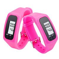 Wholesale Hours Counter - New Digital LED Watch Women Men Pedometer Run Step Walking Distance Sport Montre Calorie Counter Watch Hour