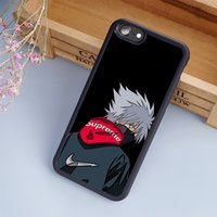 Wholesale Naruto Back - KAKASHI NARUTO cellphone Cases For iPhone 6 6S Plus 7 7 Plus 5 5S 5C SE 4S Back Cover