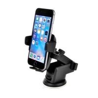 Wholesale Low Price Phone Gps - 2017 Chinese lowest price TFLASH YC093 universal one-key manipulation stretch vehicle phone holder Car phone holder