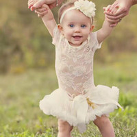 Wholesale Dress Tutu Baby Petti - Baby Girls lace dress Kids Solid color TUTU Petti dress with bow Girl sweet Cake Birthday Outfit