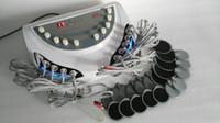 Wholesale Ems Stimulator - 2016 portable weight loss Russian Waves Electric Muscle Stimulator stimulation electrostimulation EMS slimming machine
