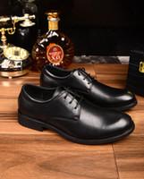 Wholesale Hot Dinner Dresses - hot black top full leather work dinner man 2017 new
