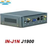 Wholesale Mini Itx Fanless Pc - Partaker Fanless Mini Nano PC Computer with Intel Quad Core J1900 Mini ITX WIFI Free Shipping