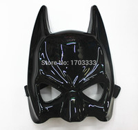 Wholesale Halloween Airsoft Mask - 100pcs Real Airsoft Mask Darth Vader Cotton Halloween Costume Party Mask Cartoon Simulation Male Adults Batman Black mask