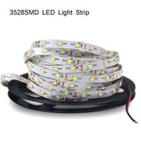 Wholesale Strip 3528 Red 24v Waterproof - Popular 3528 SMD Leds Waterproof flexible led strips light 12V 24V 60LEDs m 5m 300LEDs, CE ROHS ETL SAA Standard