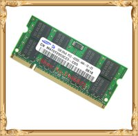 Wholesale Ram Memory Ddr2 Dimm - Notebook memory Samsung DDR2 1GB 533MHz PC2-4200 4300 laptop RAM 4200S 1G so-dimm Lifetime warranty