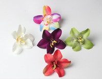 Wholesale Thailand Accessories Wholesale - Thailand orchid orchid Phalaenopsis flower simulation silk flower headdress badge clothing accessories DIY