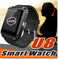 Wholesale Android Cell Phones Waterproof - U8 Smart Watch Smartwatch Wrist Watches with Altimeter and motor for iPhone 7 6 6S Plus Samsung S8 Pluls S7 edge Android Apple Cell Phone
