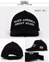 Wholesale design baseball caps online - baseball cap Trump Election MAKE AMERICA GREAT AGAIN Snapbacks Sports Caps mix designs