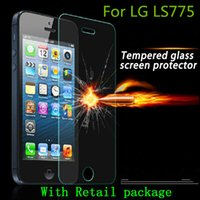 Wholesale Lg Optimus Zone - Tempered Glass Screen Protector Explosion proof For LG Optimus ZONE 3 LG K4 VS425 X Screen X Cam stylus 2 LS775