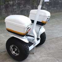 Prowl Car Cruise carro 19 polegadas Tire Two Wheel Self Balanceamento Scooter 48V Acid Lead Battery Offroad Cruiser 2X1000W Motor Smart Balance
