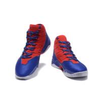 zapatos de baloncesto de los hombres de salida al por mayor-Adidas Harden Wholesale 2016 hombres zapatos de baloncesto MVP limitados zapatillas de deporte azules rojas Fiesta sorpresa el deporte al aire libre calzado deportivo