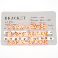 Wholesale Brace Tool - 1 Set Dental Metal Bracket Dental material Orthodontic Braces MINI ROTH 022 3-4-5 Hooks 20 pcs set New Free Shipping