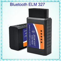 Preço de fábrica OBD2 ELD32 ELM327 ELM 327 v2.1 Bluetooth Car Diagnostic Interface Scanner funciona no Android BT adaptador V 2.1