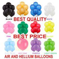 Wholesale Dark Blue Balloons - 100 LARGE Helium High Quality Party Birthday Wedding Balloons baloons 2.8 g Thickening 12 Inch Pearl Balloons Birthday Party Wedding Decorat