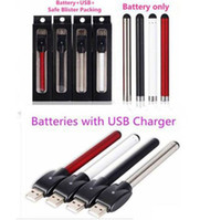 Wholesale Charger Retail Packing - Authentic O-pen CE3 Vape Bud Touch Battery 280mAh 510Thread with USB Charger Retail Box Pack for Wax Oil Cartridge Vaporizer