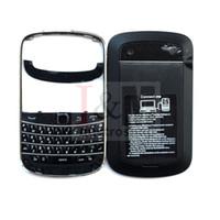 Wholesale Blackberry Full House - For Blackberry Bold 9900 full Housing +Bettery Cover Keypad Balck
