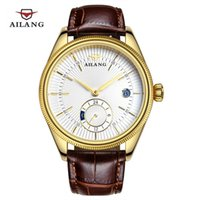 dropshipping mens gold watch straps uk uk delivery on mens 2016 ailang mens automatic mechanical watches men dive 50m fashion casual wristwatches leather strap gold clock top brand luxury dropshipping uk