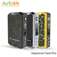 Wholesale Accurate Metals - Original Vaporesso Tarot Pro Mod 200w VTC Box Mod with CW CT Functions RB Circuit Firmware Upgradeable Accurate Performance
