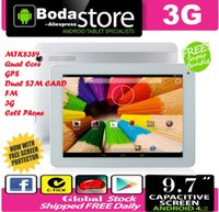 FreeShip Boda M6 pro 3G Quad-Core-Tablet-PC 9.7-Zoll-Phone 3G SIM IPS Retina 1024x768 MTK8389 1.6GHz 1GB RAM 8GB GPS WCDMA HDMI