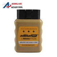 Wholesale adblue obd2 emulator online - 2018 Professional AdblueOBD2 for RENAULT Trucks AdBlue DEF and NOx Emulator Via OBD2 Diagnostic tool easy operate