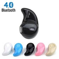 headset für iphone rosa großhandel-S530 nette Mini Art drahtloser Bluetooth Kopfhörer V4.0 Stealth schwarz / pink / weiß Headset Freisprecheinrichtung Universell für Ihr Telefon