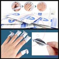 Wholesale Shellac Nails Polish - New Miaoxi Nail Art Soak Off Remover Gel Polish Acrylic Shellac Removal Foil Wraps Pad Easily