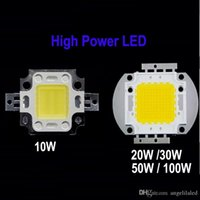 Wholesale High Power LED COB LED W W W W W Warm White Cool White Nature White Intergrated LED Chip Epistar