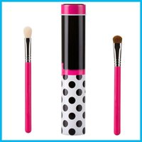 Wholesale Essentials Girls - Cosmetics S M Girl Pinky Color Pop Collection Makeup Brush Kits with 3pcs Essential Brushes via park888