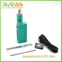 Joyetech EVIC Mini Kit EVIC Mini VW vaporizador Ecig Kit 60w Box Mod VS Kanger Subox Mini e Eleaf istick 100w A5