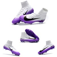 Wholesale football cleats sale - 2018 Superfly V FG CR7 Soccer Shoes Ronaldo Superfly Football Shoes CR7 Soccer Boots Outdoor Football Boots soccer Cleats Athletic Hot sale
