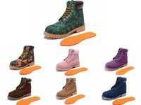 Wholesale Dr Lights - Tim Bo Lan classic high help waterproof warm outdoor leisure hiking boots men and women boots couple boots DR Martin Crystal Bottom