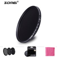 Wholesale Neutral Density Filter Wholesale - Professional Zomei 77mm ND ND2 ND4 ND8 Filter Neutral Density Fitlers Densidade Protector Filtro for Canon Nikon Sony Camera Lens