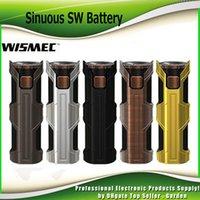 Wholesale Genuine Tube - Original Wismec Sinuous SW 50W Box Mod Built-in 3000mAh Battery 510 Thread Replaceable Tubes Mod for Elabo SW Tank 100% Genuine 2235036