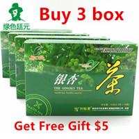 Wholesale Gift Boxes Buy - Promotion Chinese herbal tea Buy 3 box Ginkgo tea Get Free Gift 4 Chrysanthemum Tea organic lower blood pressure health care