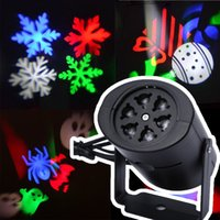 Wholesale colour changing lights - led wall decoration laser light LED pattern lights, rgb colour 4 pattern card change lamp Projector Showers led laser light for holiday